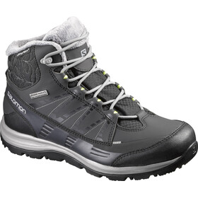 """Salomon W's Kaïna CS WP 2 Shoes Black/Asphalt/Flashy-X"""